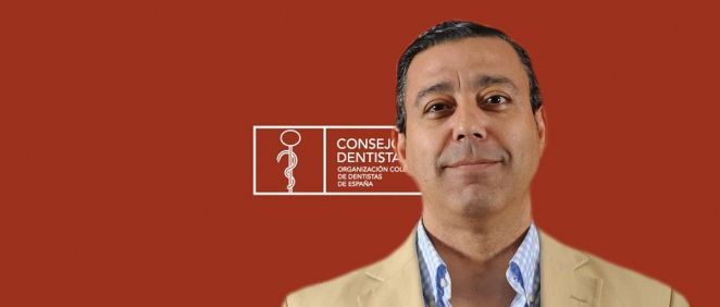 El presidente del Consejo de Dentistas, Óscar Castro.