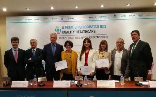 """La Fundación IDIS reconoce la """"excelencia"""" en la información de salud"""