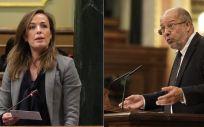 Los diputados Carmen Navarro (PP) y Francisco Igea (Ciudadanos), han defendido en el Congreso sus razones para apoyar las cuentas de Sanidad.