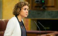 Dolors Montserrat, ministra de Sanidad, ha insistido en el Congreso que no hay excusas para votar no a los PGE.