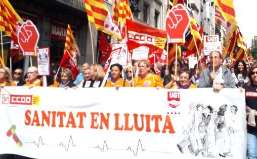 Los sindicatos ponen ya deberes a quien finalmente dirija la sanidad en Cataluña