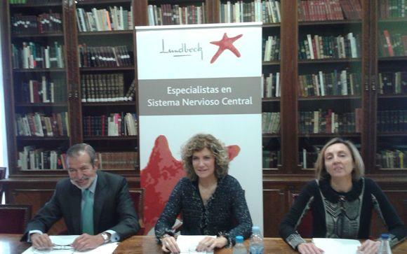 De izq. a dcha: Jerónimo Saiz, Susana Gómez-Lus y Margalida Gili, este martes en la sede de la APM