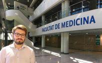 Daniel Sánchez, vicepresidente de Asuntos Externos del Consejo Estatal de Estudiantes de Medicina