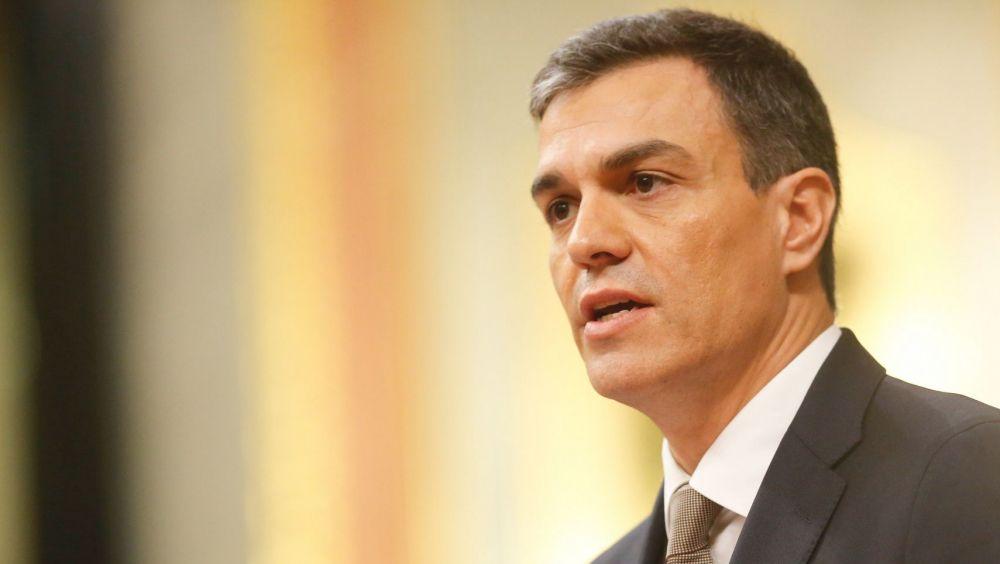 Pedro Sánchez, presidente en funciones del Gobierno de España.