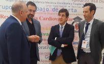 El consejero de Salud de la Región de Murcia, Manuel Villegas, en el XXIV Congreso de la Sociedad Española de Cirugía Torácica-Cardiovascular