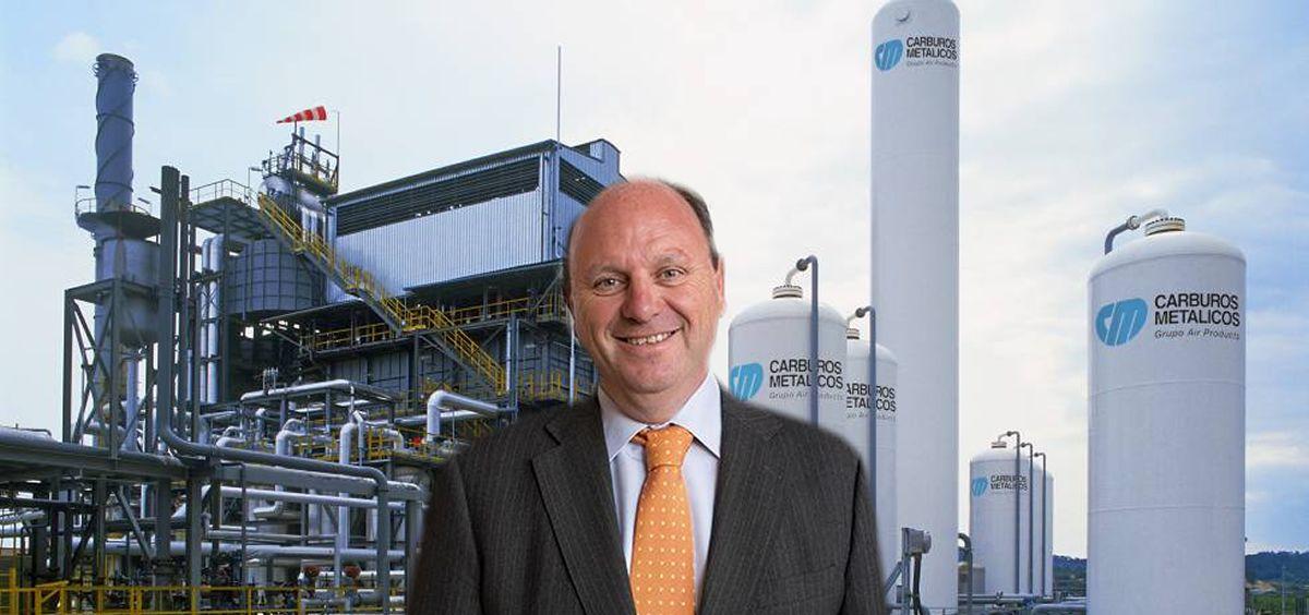 Javier Godoy, director de Carburos Médica.