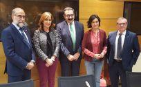 Carmen Montón, en la imagen junto a otros consejeros en una reunión del Interterritorial, tendrá la oportunidad de darle más protagonismo a este órgano dependiente de Sanidad.