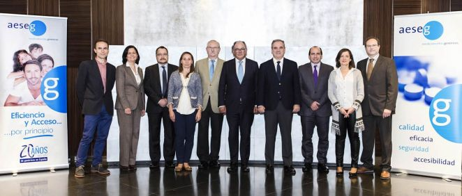 Algunos de los integrantes del Consejo Asesor de Aeseg