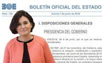 El BOE ha publicado los cambios en la estructura del Gobierno y las funciones de cada ministerio.
