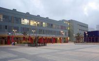 Instalaciones del Hospital Universitario de Ceuta.