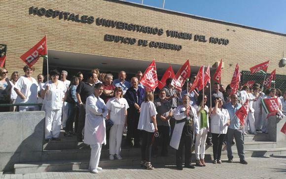 """Respaldo """"masivo"""" a las protestas sanitarias en Andalucía para la recuperación de derechos"""
