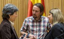 Los responsables del área de Sanidad de Podemos marcan los puntos en los que ofrecerán colaboración a Carmen Montón.