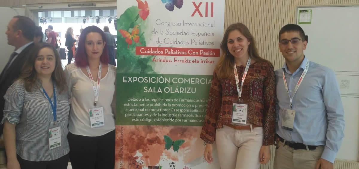 Estudiantes de Medicina, Enfermería y Psicología en el congreso de la Sociedad Española de Cuidados Paliativos (Secpal)