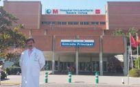 Domingo del Cacho, gerente del Hospital Universitario Severo Ochoa