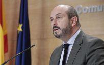 Pedro Rollán, portavoz del gobierno de la Comunidad de Madrid