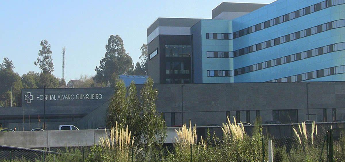 Fachada del Hospital Álvaro Cunqueiro (Galicia)