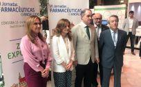 Álvarez destaca el papel de la farmacia andaluza como agente de salud de la población