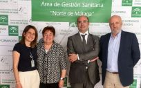 Nuevos directores gerentes para las áreas de gestión sanitaria Serranía y Norte de Málaga