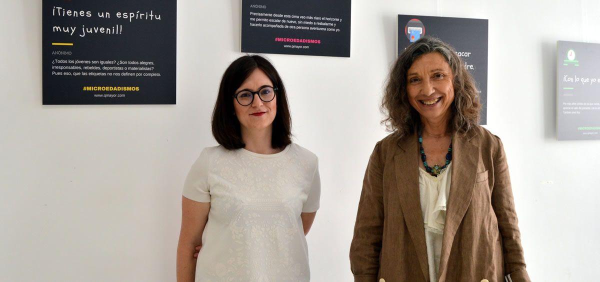 Nuria Carcavilla y Rosa María Hernández, han explicado su lucha contra la discriminación por motivos de edad