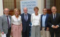 Los ponentes que han participado en las jornadas sobre trasplantes