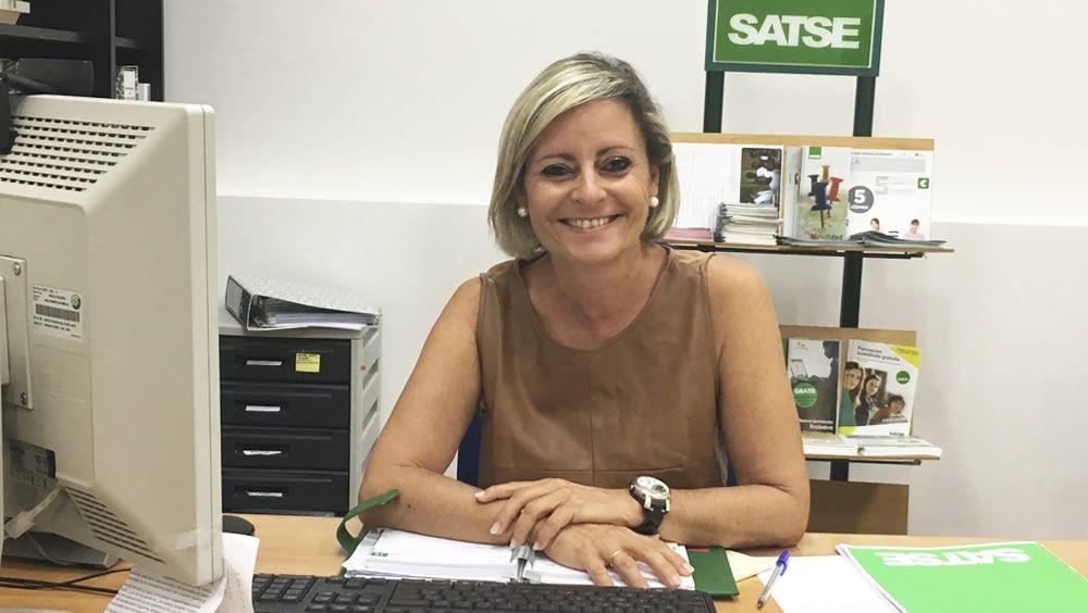 María José Algarra, secretaria autonómica de Satse Navarra