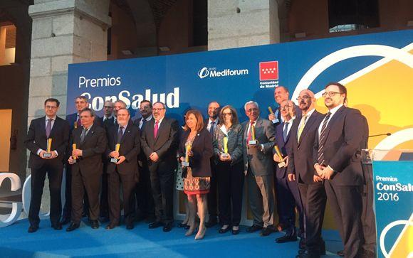 Gran acogida de los Premios ConSalud 2016