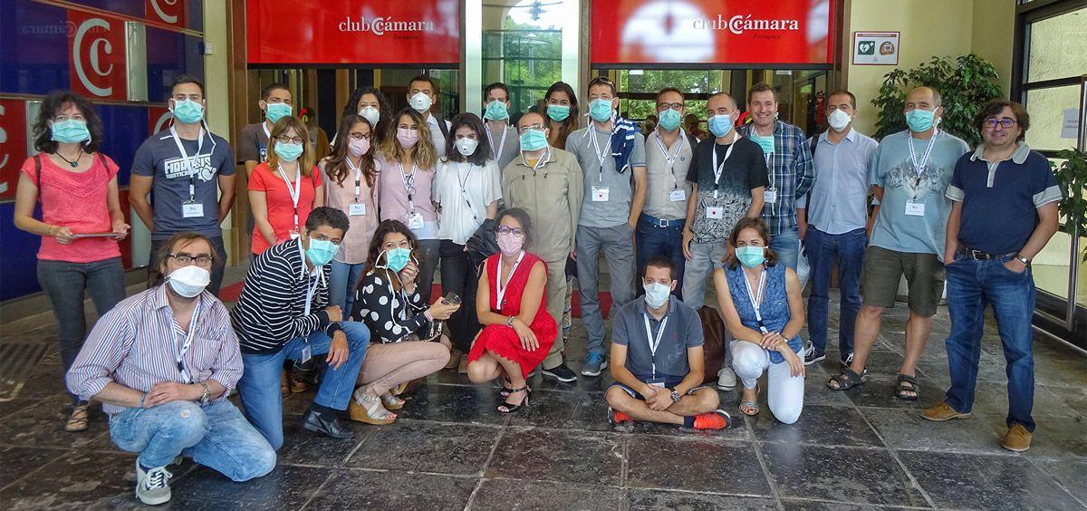Grupo de pacientes que han participado en el Congreso de la Federación Española de Fibrosis Quística