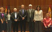 Carmen Montón y los altos cargos del Ministerio de Sanidad