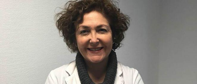 María Isabel Moya, presidenta del Colegio Oficial de Médicos de Alicante