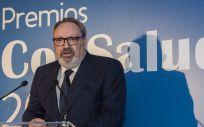 Juan Blanco, CEO del Grupo Mediforum, en la inauguración de los 'Premios ConSalud 2018' | Foto: Agustín Iglesias