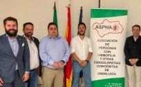 Presentación de la asociación Aspha en Andalucía