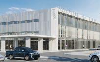 Recreación virtual del nuevo Hospital de Teruel (Foto. Gobierno de Aragón)