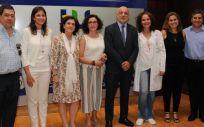 El director general de Calidad y Humanización de la Asistencia Sanitaria de Castilla-La Mancha, Rodrigo Gutiérrez, en el centro de la imagen