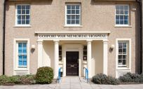 El Gosport War Memorial Hospital, donde fueron tratados los pacientes que murieron de forma prematura