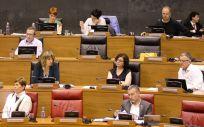 El Parlamento de Navarra ha propuesto, a través de una Ley Foral, la modificación de la Ley de cohesión del SNS para que se garantice la universalidad.