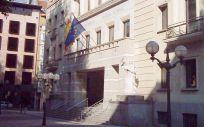 Fachada del Tribunal Superior de Justicia del País Vasco