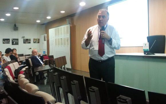 Luis Cabero, ginecólogo organizador del curso