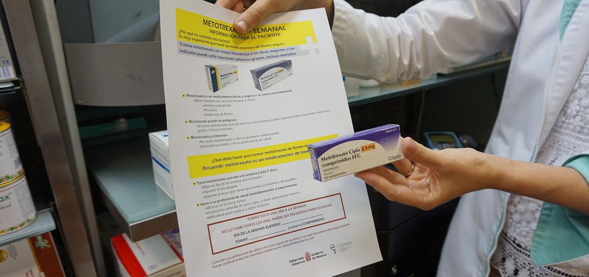 """Navarra lanza la campaña """"Errores cero"""", para prevenir errores en la medicación"""