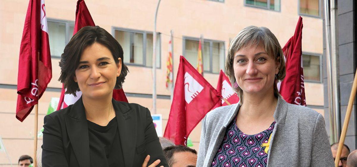 La llegada de Montón a Sanidad y de Vergés a la Generalitat han sido saludadas por el sindicato Metges de Catalunya.