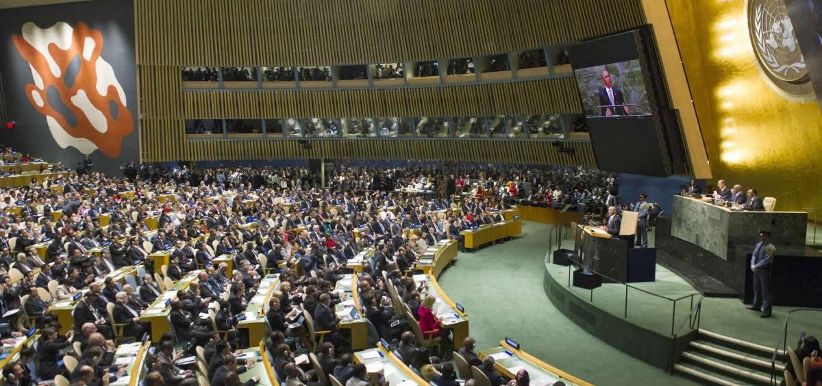 Reunión del Consejo Económico y Social de la ONU