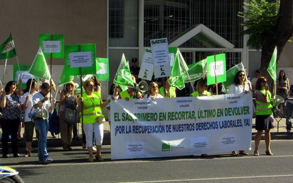 La Enfermería andaluza, en pie de guerra en cuatro provincias por sus condiciones laborales