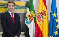 El director gerente del Servicio Extremeño de Salud (SES), Ceciliano Franco Rubio