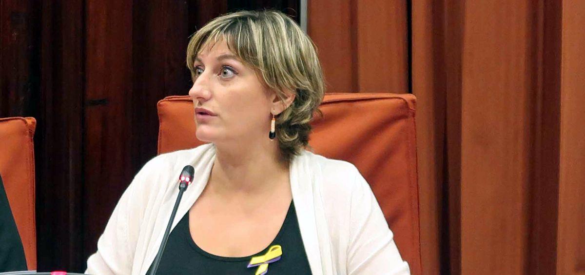 Consejera de Salud de Cataluña, Alba Vergés.