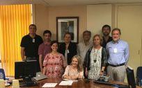 Ana Mª Arbáizar Martínez, la nueva presidenta de la Comisión Nacional de Medicina Familiar y Comunitaria, durante la firma de su cargo