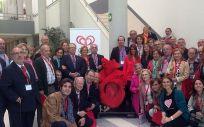 Miembros de Cardioalianza, organización que agrupa a varias asociaciones de pacientes con enfermedades cariovasculares