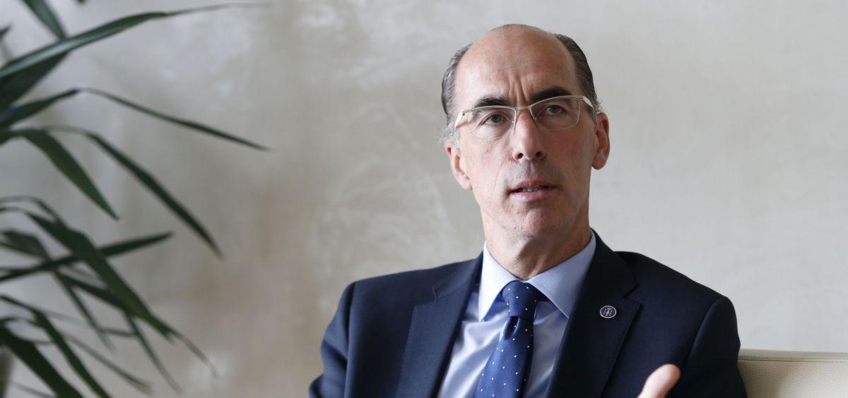 El consejero de Sanidad de Galicia, Jesús Vázquez