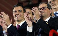 El sector sanitario estará pendiente de la reunión de este lunes entre Pedro Sánchez y Quim Torra en Moncloa.