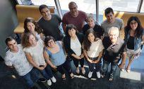 Equipo de investigadores que ha participado en el estudio sobre terapia génica contra obesidad y diabetes tipo 2