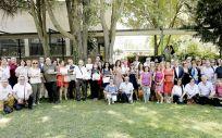 Foto de familia de la II Edición de las Ayudas Paciente VitalAire