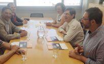 Manuel Villegas se ha reunido con los representantes del Colegio de Médicos de Murcia y de la Organización Médica Colegial